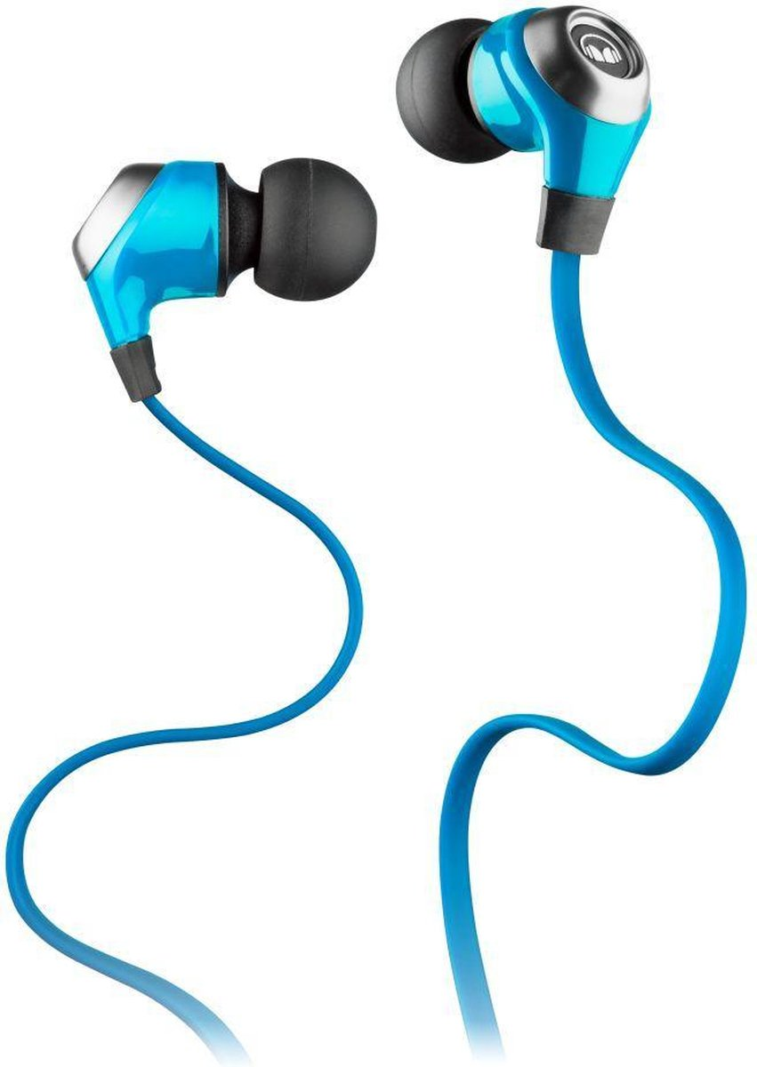 Monster N-Lite In-Ear Headphones Blue with Noise Isolating