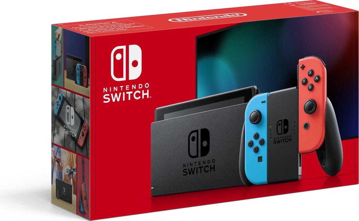 Nintendo Switch Console (Blauw/Rood)