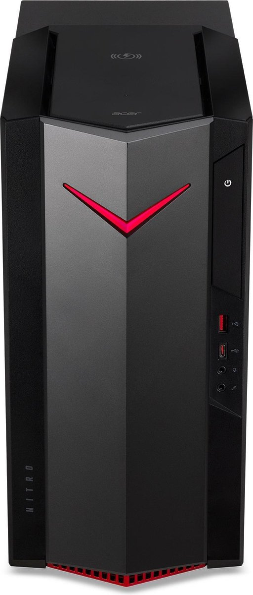 Nitro N50-620 I9206 - i5-11400F/16GB/512GB SSD + 1TB HDD/GTX 1650 4GB/No ODD/500 Watt/No KB/No Mouse/Win10 Home