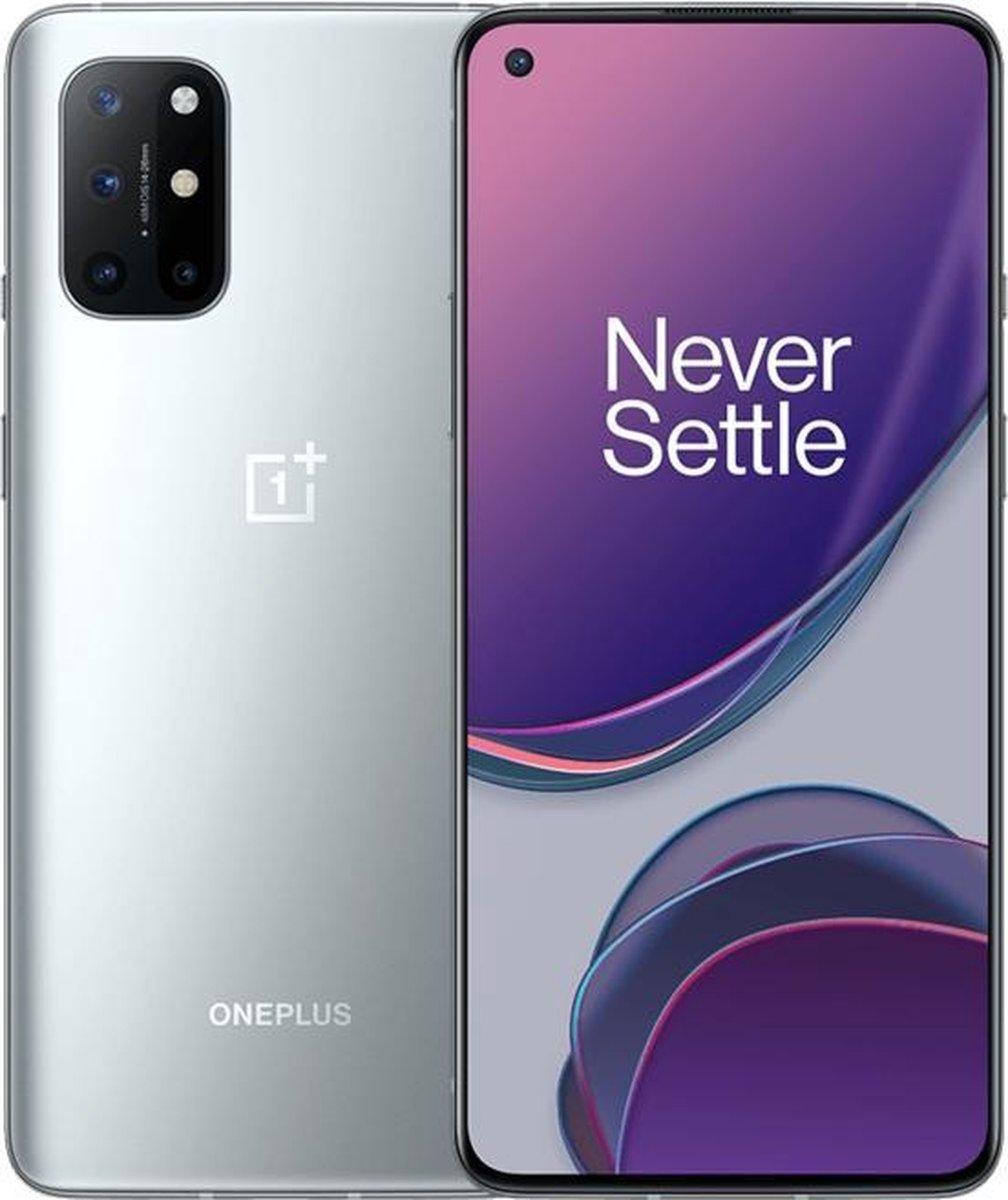 "OnePlus 8T 16,6 cm (6.55"") Dual SIM Oxygen OS 5G USB Type-C 8 GB 128 GB 4500 mAh Zilver"