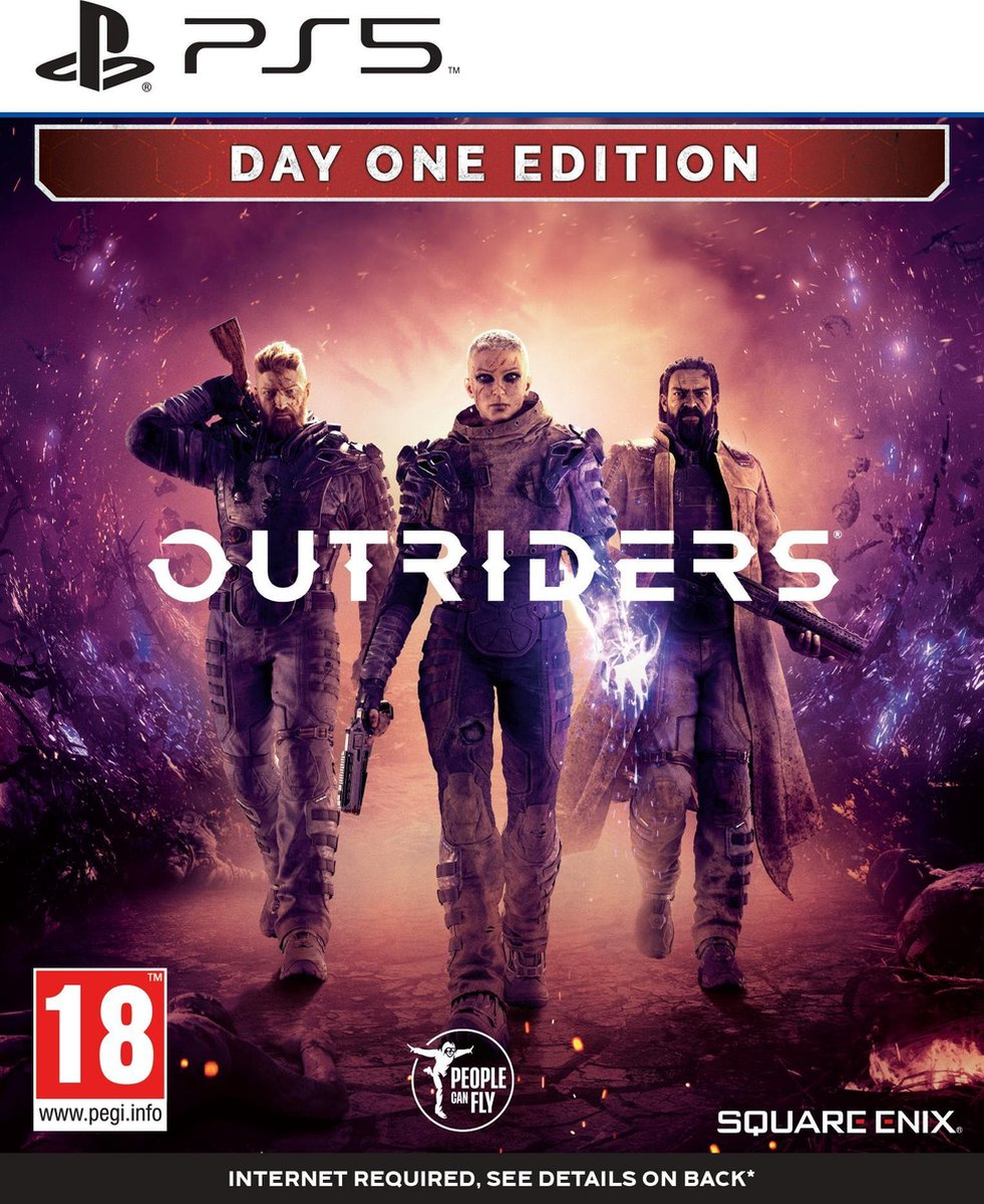 Outriders - Day One Edition - PS5