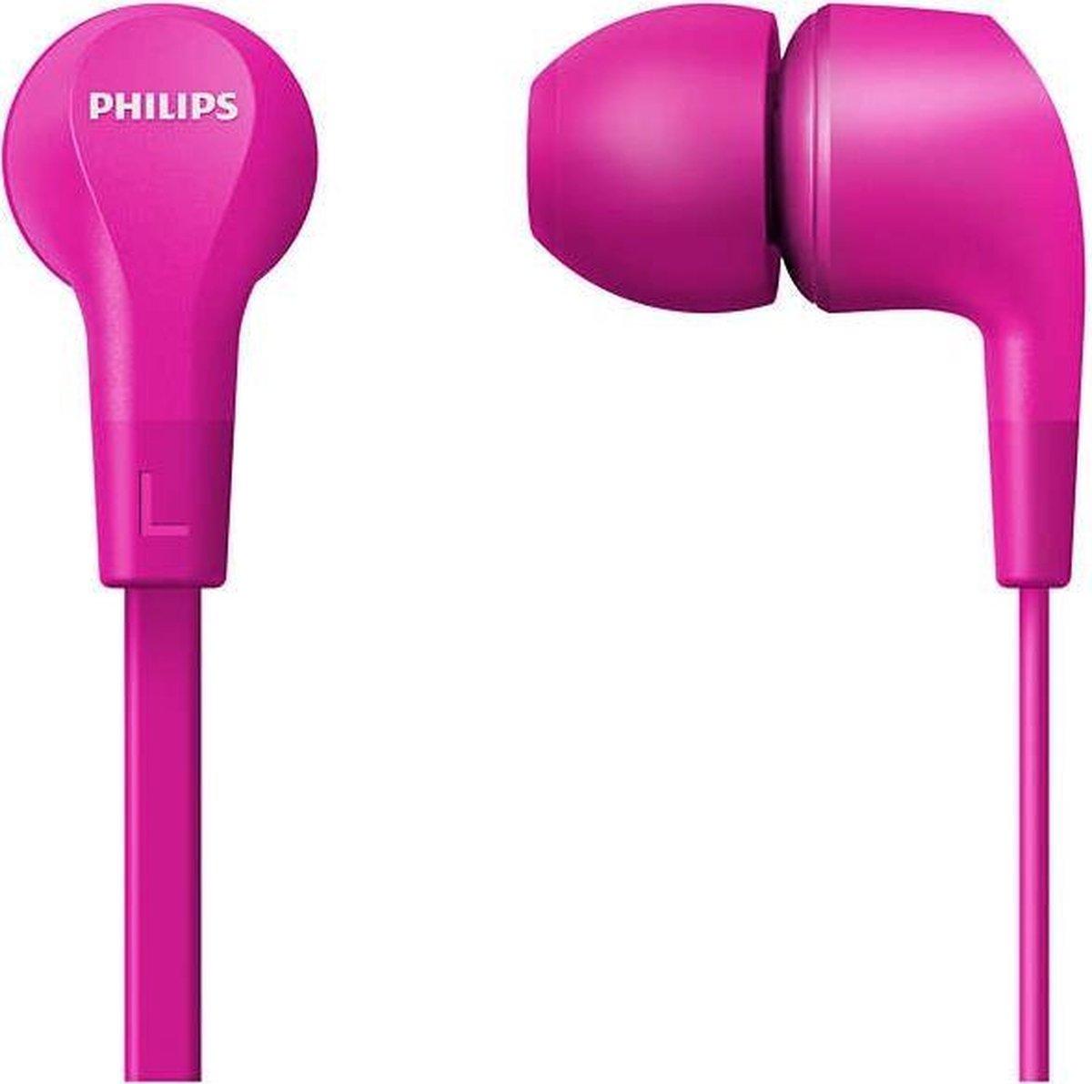 Philips TAE1105 - In-ear Koptelefoon - Roze