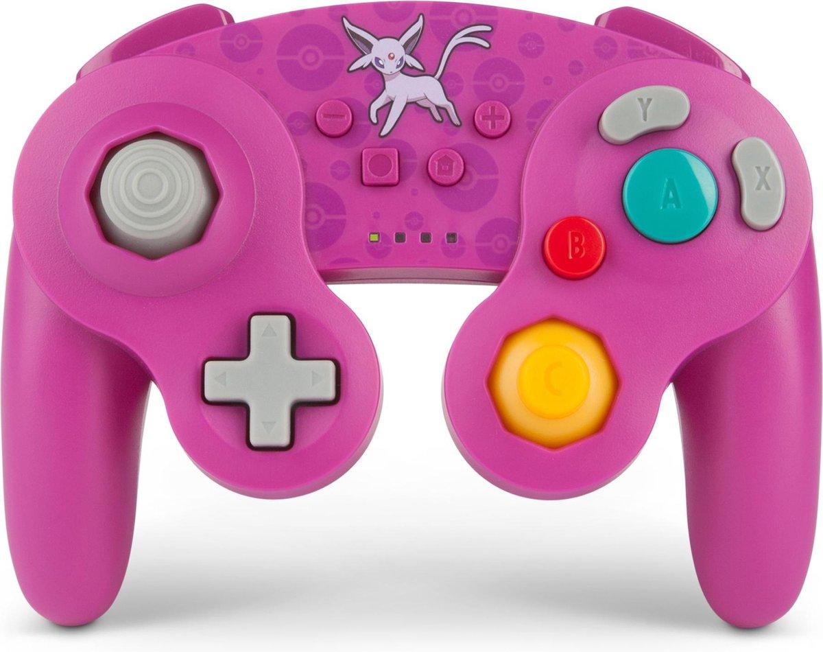 PowerA Draadloze Nintendo Switch Controller - GameCube Style - Espeon