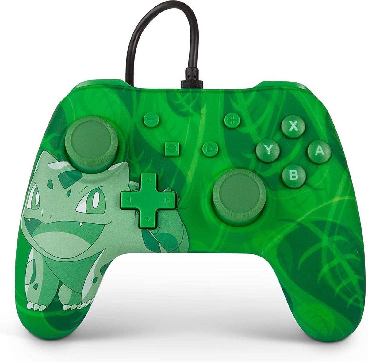PowerA Nintendo Switch controller Switch pro controller Pokemon groen.