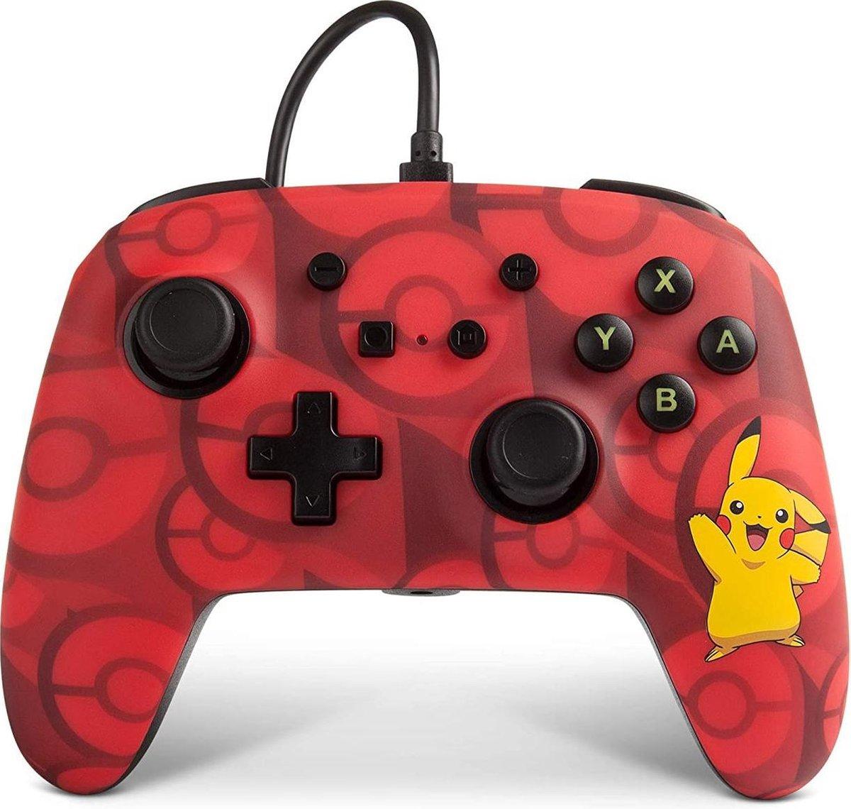 PowerA Nintendo Switch controller switch pro controller Pikachu