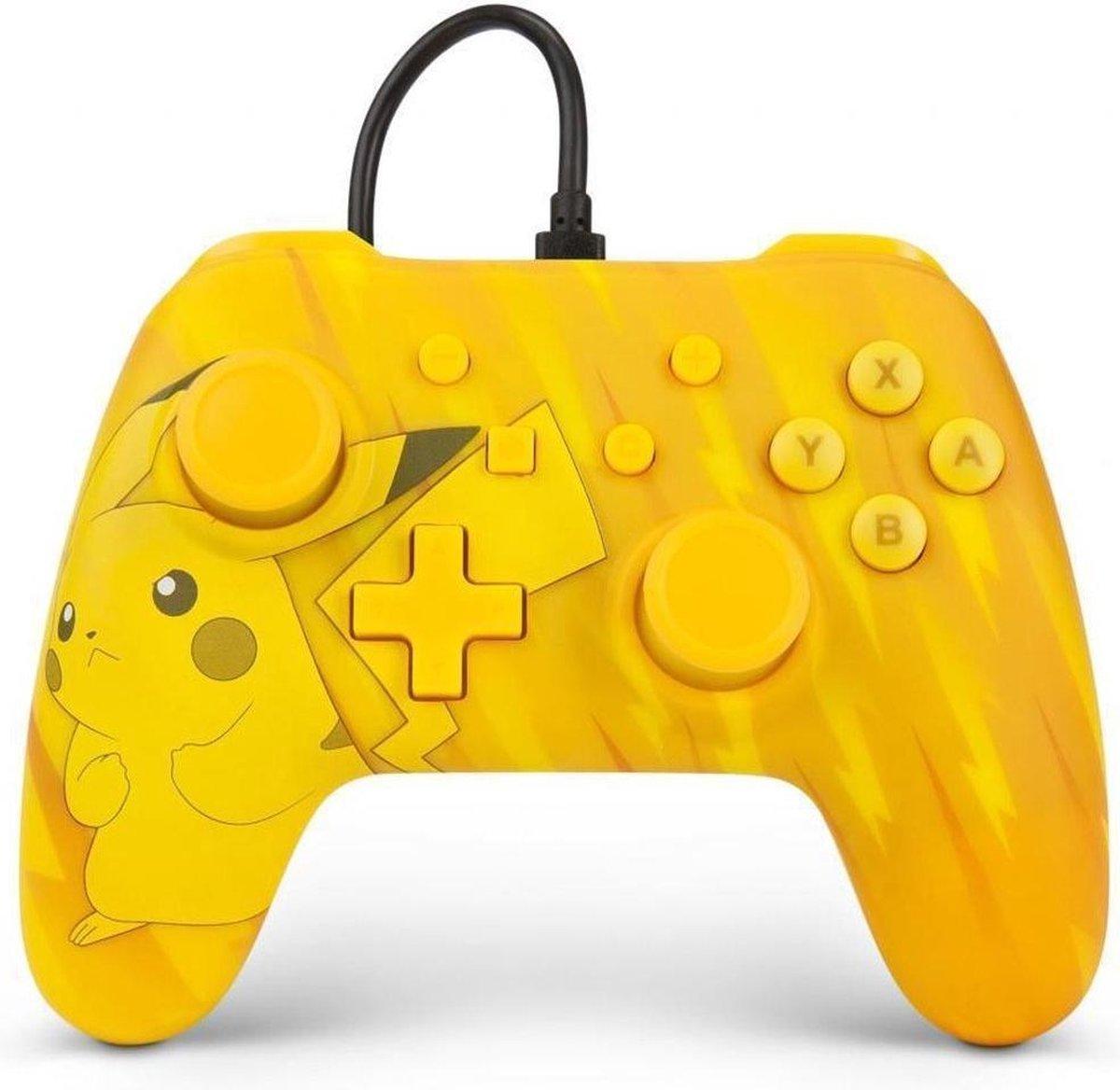 PowerA Pikachu Static Geel USB Gamepad Analoog/digitaal Nintendo Switch