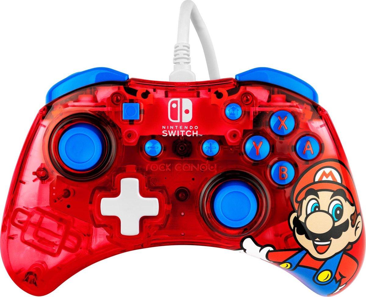 Rock Candy Nintendo Switch Controller - Mario