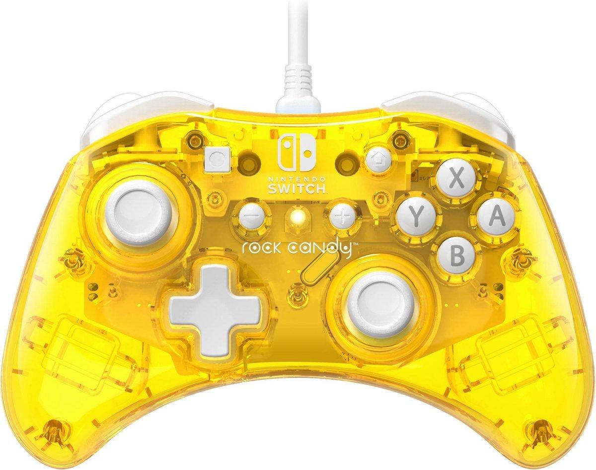 Rock Candy Nintendo Switch Controller - Pineapple Pop