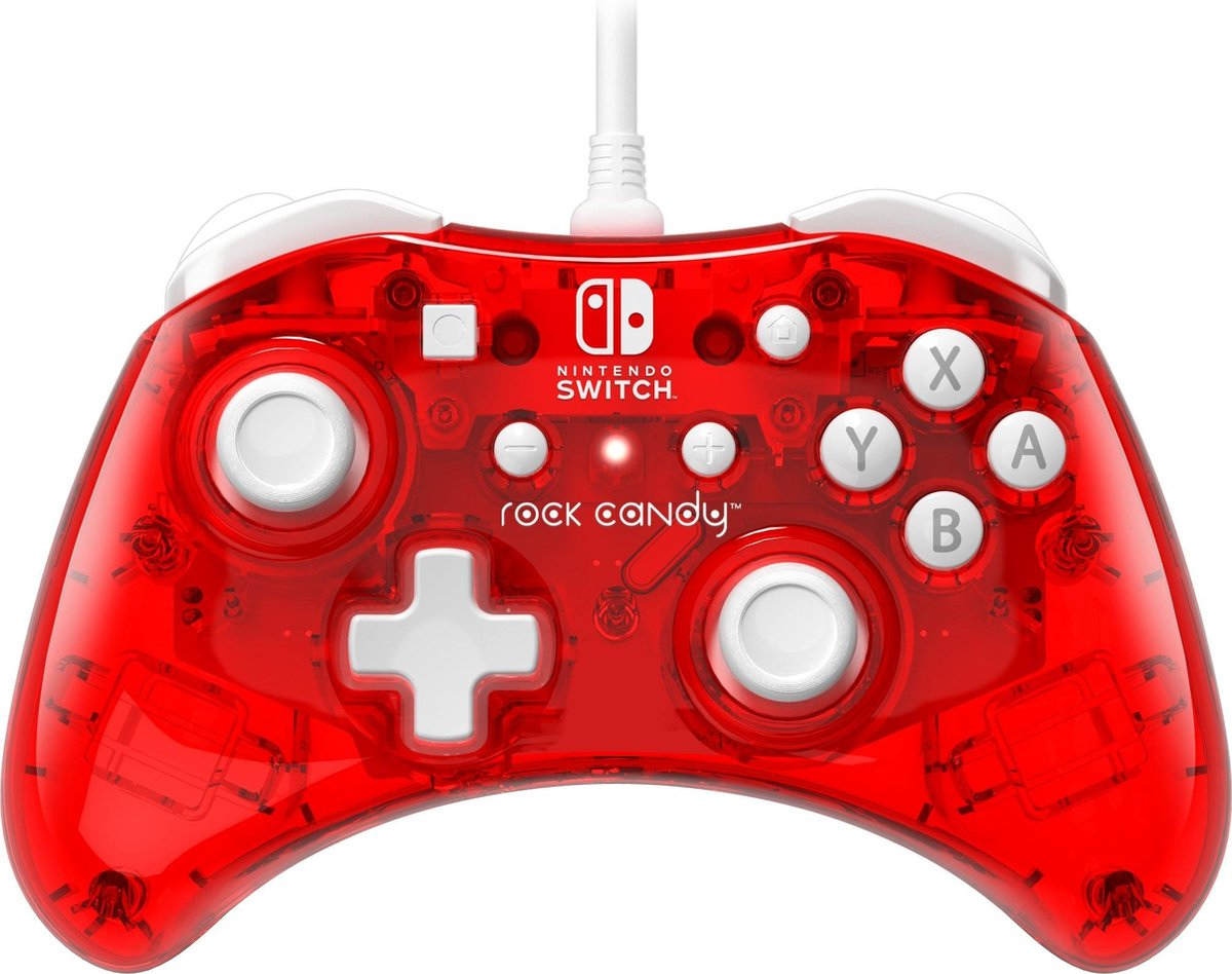 Rock Candy Wired Controller - Stormin' Cherry - Nintendo Switch