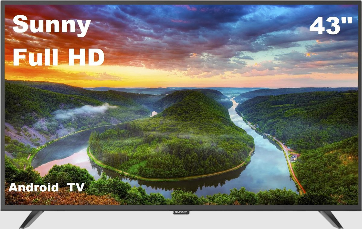 SUNNY SN43DIL13/0216 - 43 Inch - FULL HD - Smart Android TV
