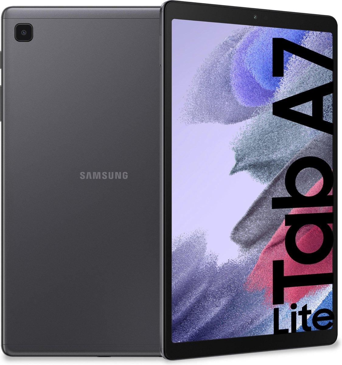 """Samsung Galaxy Tab A7 Lite SM-T220N 32 GB 22,1 cm (8.7"""") Mediatek 3 GB Wi-Fi 5 (802.11ac) Grijs"""