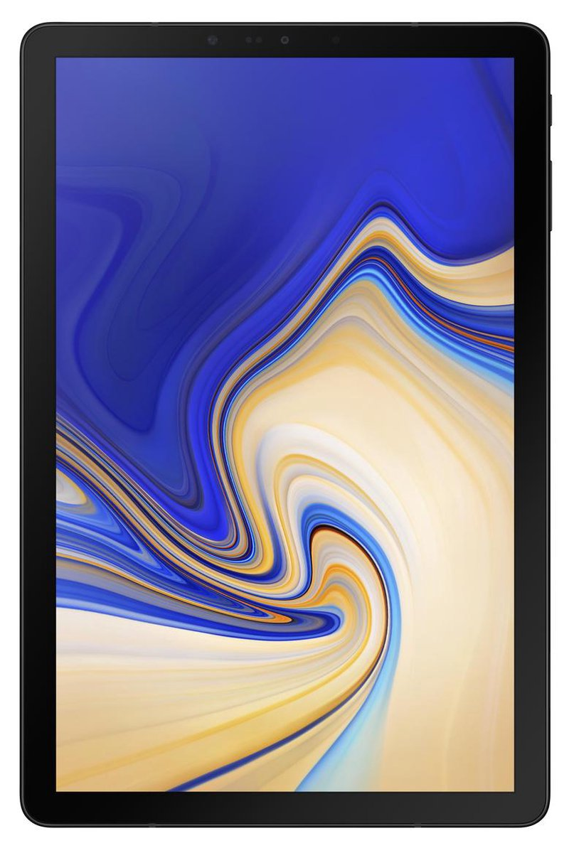 Samsung Galaxy Tab S4 - 10.5 inch - WiFi + 4G - 64GB - Zwart