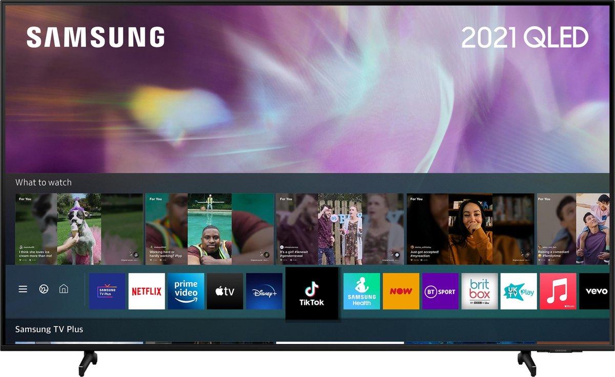 "Samsung QE65Q60AAU 165,1 cm (65"") 4K Ultra HD Smart TV Wifi Zwart"