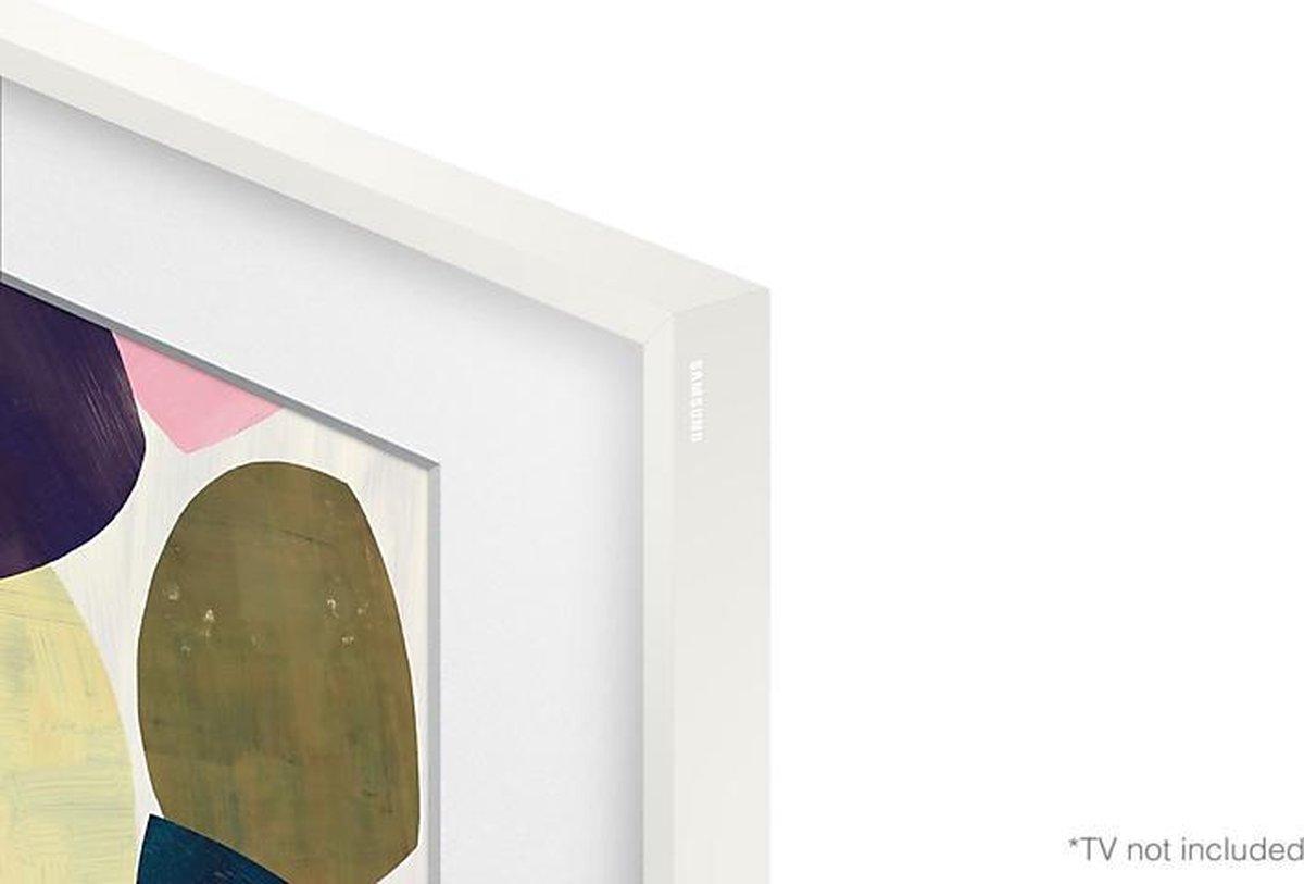 """Samsung - The Frame (2021) - 65"""" Lijst - Wit- VG-SCFA65WTBXC"""