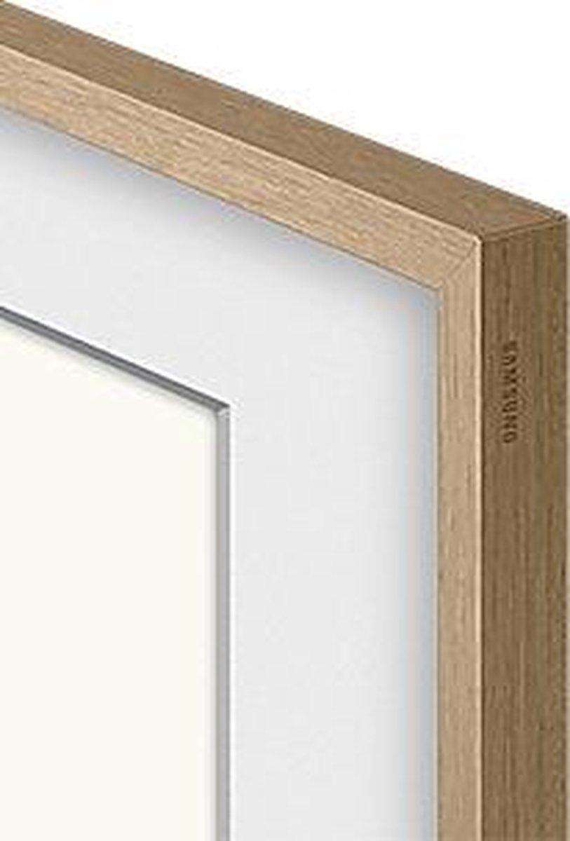 """Samsung - The Frame (2021) - 75"""" Lijst - Teak - VG-SCFA75TKBXC"""