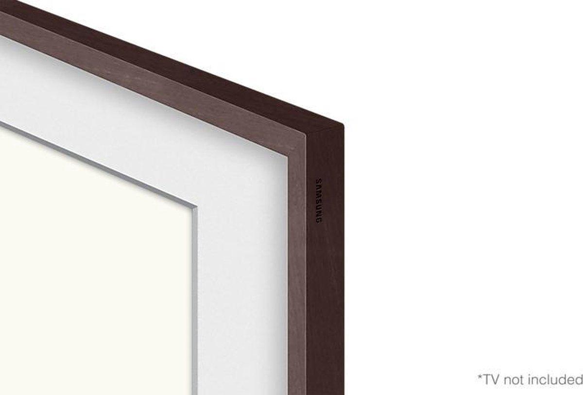 """Samsung - The Frame (2021) - 75"""" Lijst - Walnoot - VG-SCFA75BWBXC"""