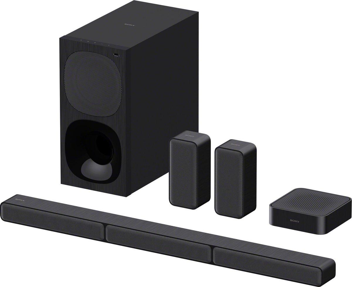 Sony HT-S40R - Soundbar met subwoofer en draadloze achterspeakers - Zwart