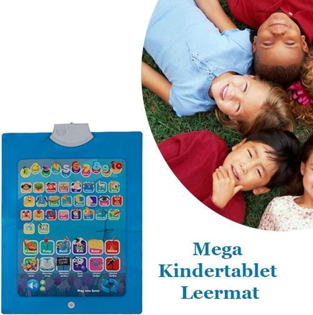 Spelen en tegelijkertijd leren met de Mega Kindertablet Leermat