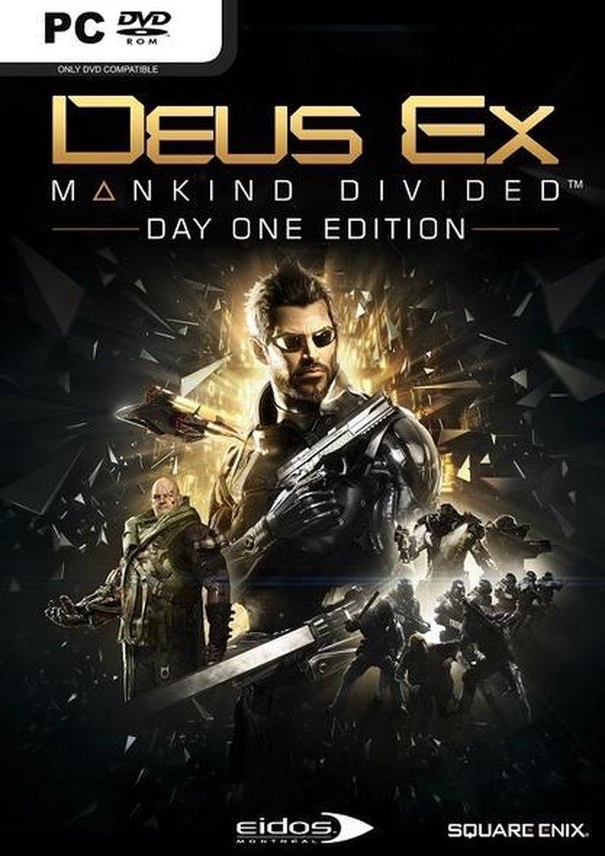 Square Enix Deus Ex: Mankind Divided Day One Edition, PC Basic + DLC