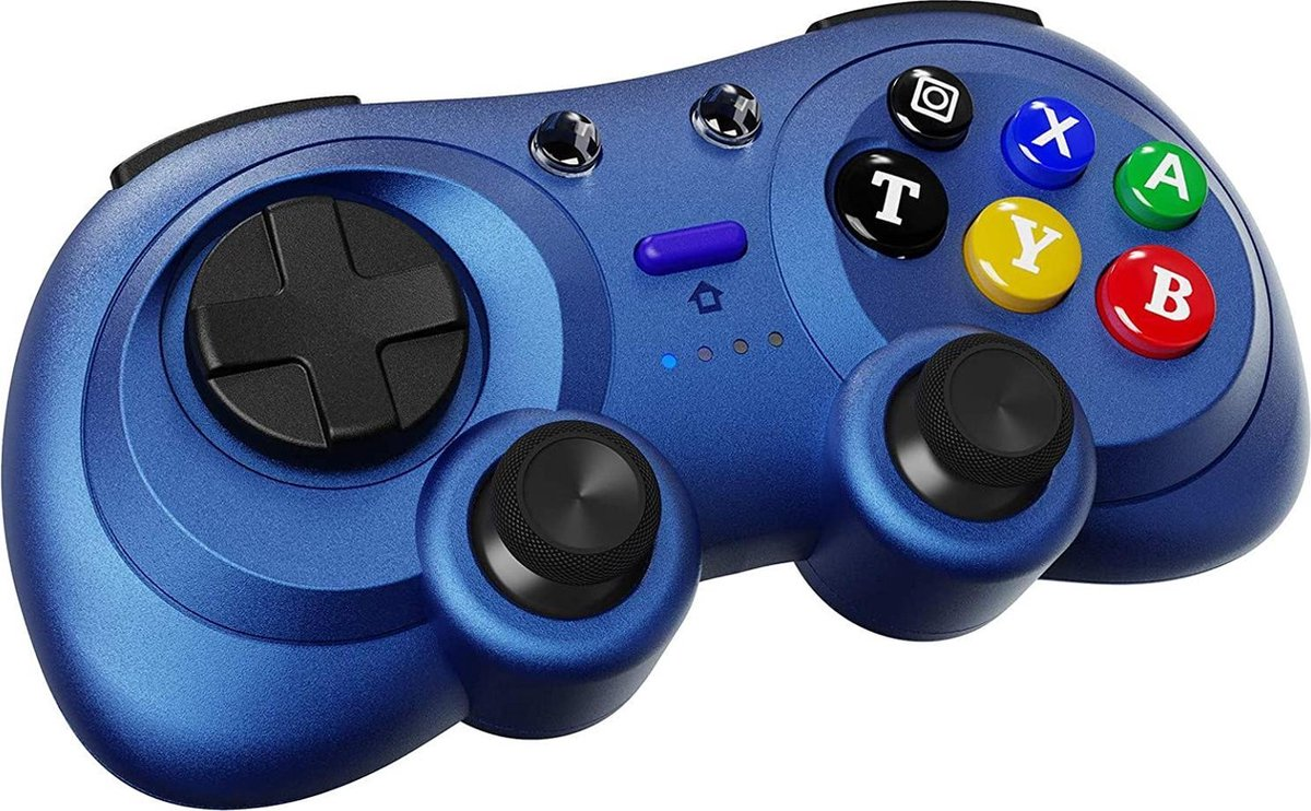 Switch Controller Draadloos - Vervangbare Nintendo Switch en PC - Blauw