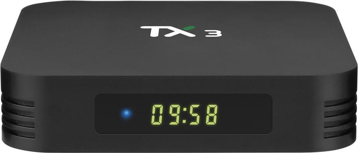 TX3 mediaspeler Amlogic S905X3 - 8K - 4/32 GB - Bluetooth en Dual-band Wifi - KODI 18.4