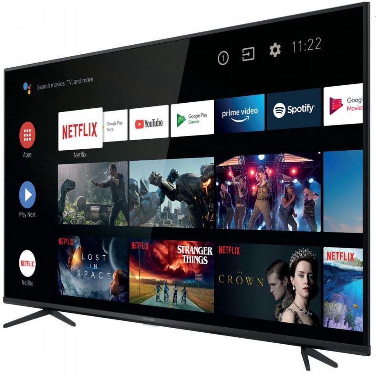 "Thomson 50UG6400 tv 127 cm (50"") 4K Ultra HD Smart TV Wifi Zwart"