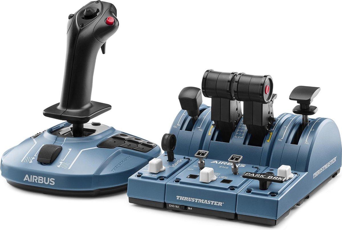 Thrustmaster TCA Captain Pack - Geschikt voor PC - Zwart | Blauw