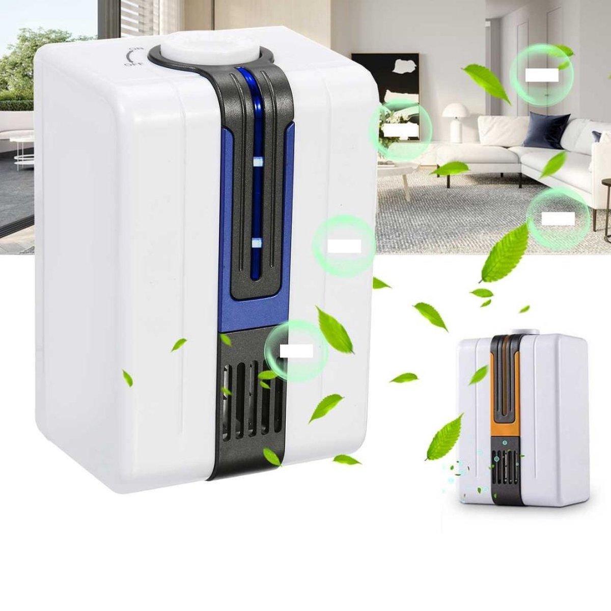 Thuys Luchtreiniger - Luchtverfrisser - Luchtververser - Luchtfilter - Nachtlamp - Luchtverfrisser woonkamer - Luchtverfrisser automatisch