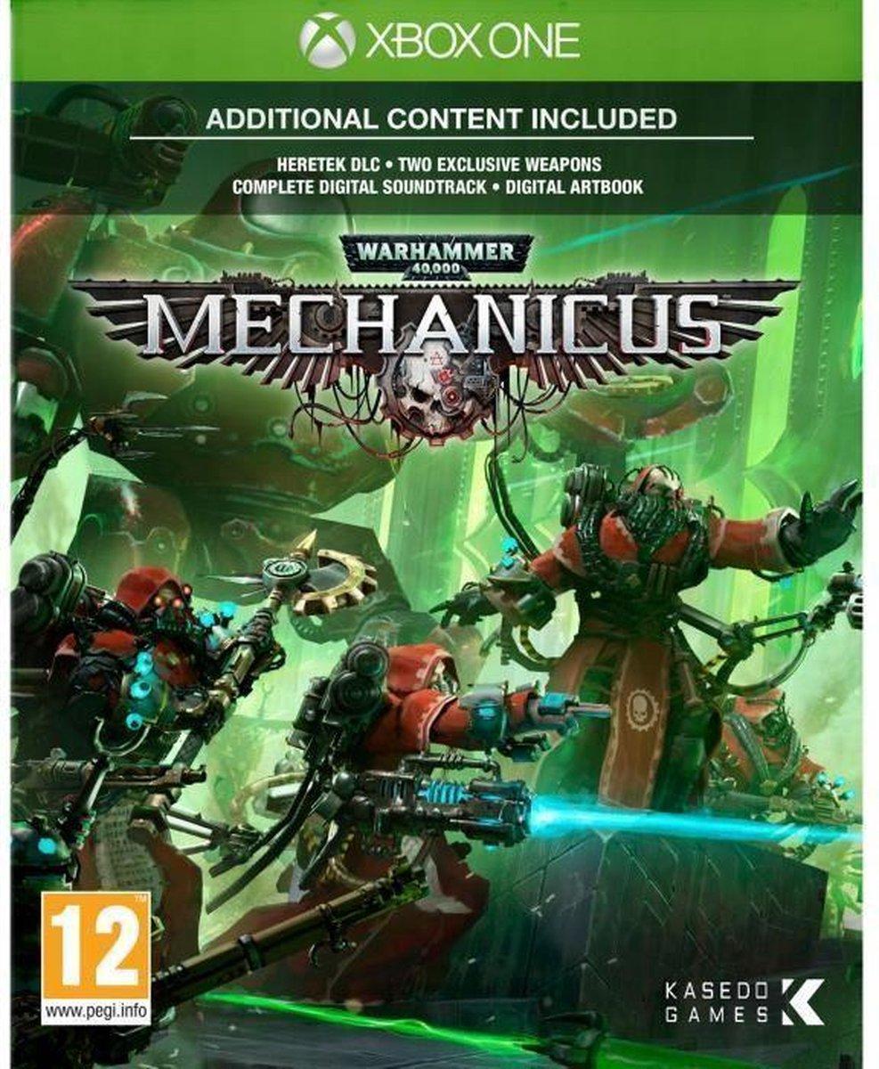 Warhammer 40K Mechanicus Jeu Xbox One