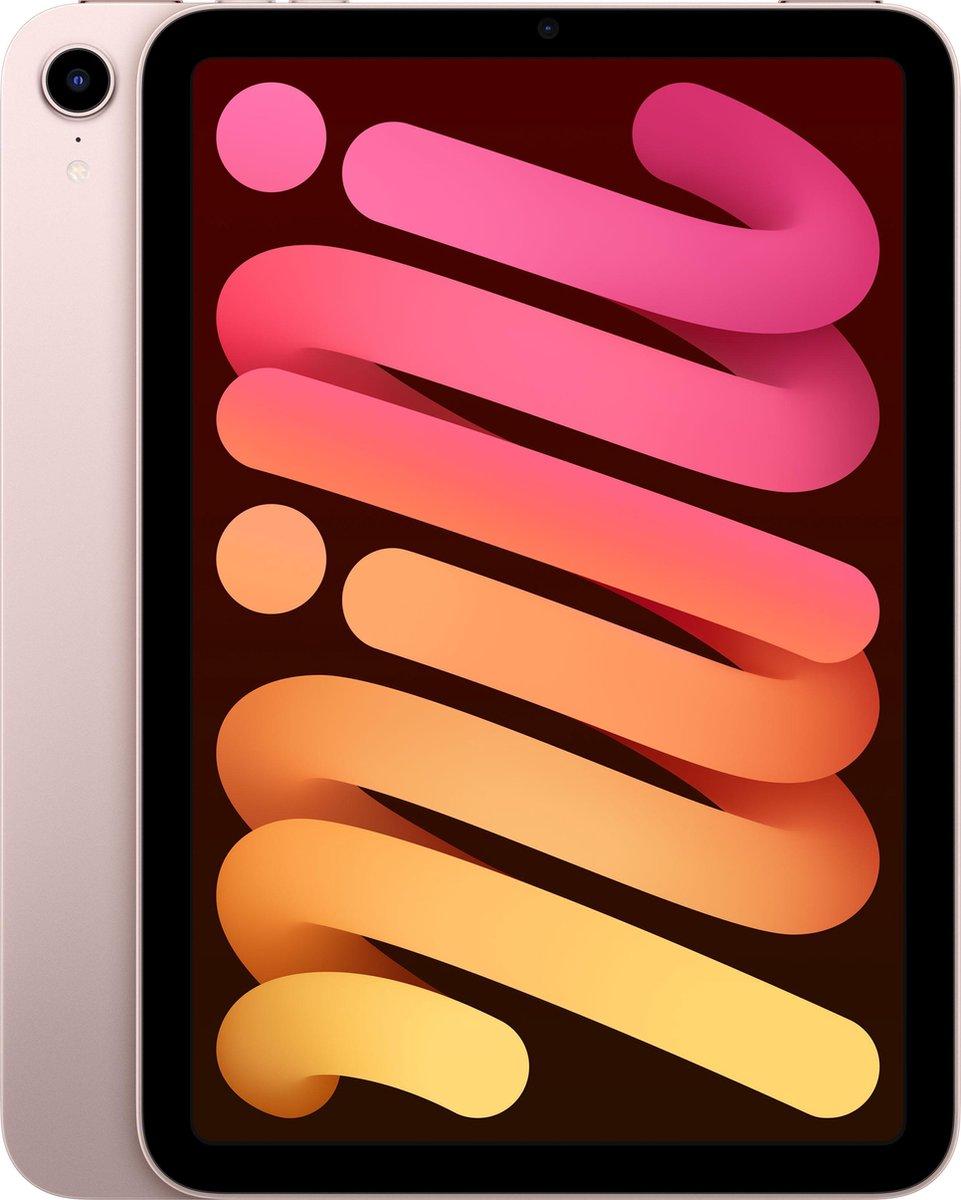 iPad mini (2021) - 8.3 inch - WiFi - 256GB - Roze